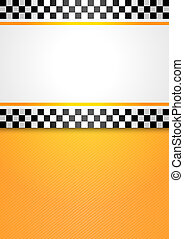 táxi táxi, fundo, em branco