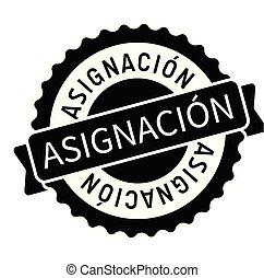 tâche, timbre, dans, espagnol