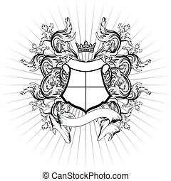 täcka, heraldisk, vapen, copyspace10