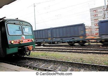 Tåg, gods