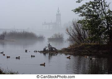 tågede, kirke