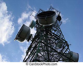 tårn, kommunikationer