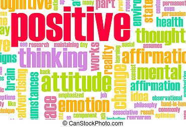 tænkning, positiv