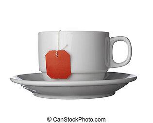 tè, caffè bianco, tazza