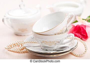 tè, campanelle, elegante