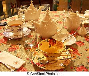 tè inglese, serie
