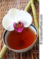 tè, orchidea