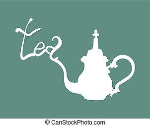 tè, simbolo, fresco