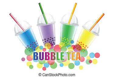 té, burbuja