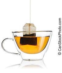 té, caliente