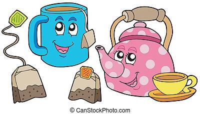té, colección