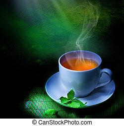 té, herbario