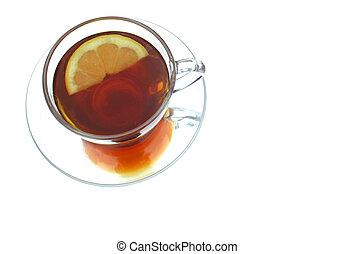 té, limón