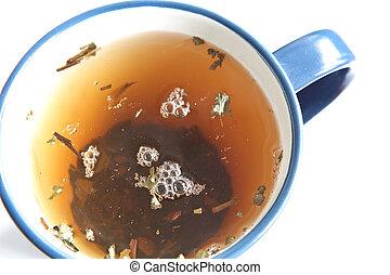 té verde, infusión