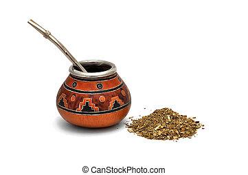 té, yerba, compañero