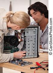 técnicos computadora