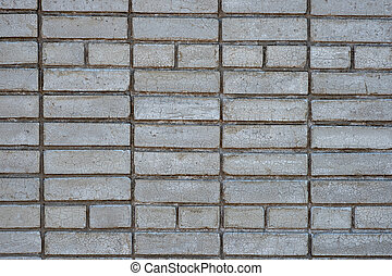 tégla, fehér, kőművesség, habarcs, háttér, cement