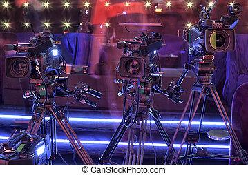 télécaméra, salle concert