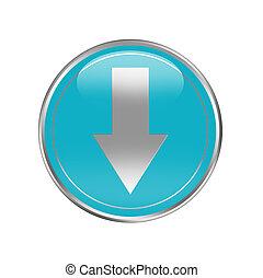 téléchargement, bouton
