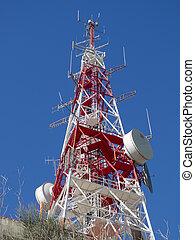 télécommunications, antenne