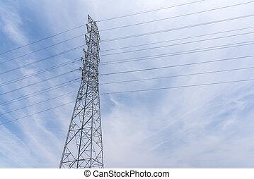 télécommunications, poste, fil, électrique