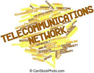 télécommunications, réseau
