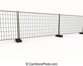 télégraphier clôture, maille