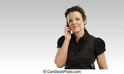 téléphone, 3, affaires femme, une
