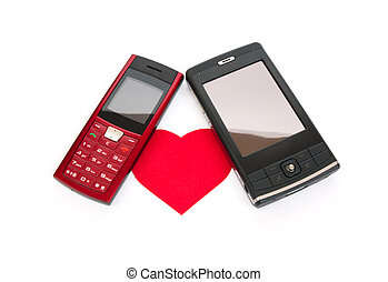 téléphone, amour