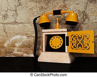 téléphone antique, vieux