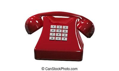 téléphone, appeler, canal, alpha