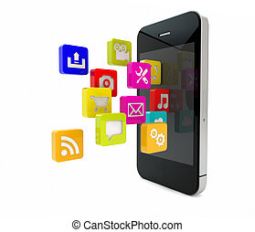 téléphone, apps