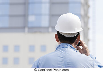 téléphone, architecte