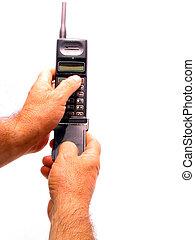 téléphone, cellule avoirs