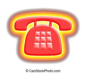 téléphone, chaud