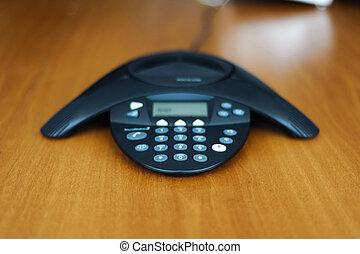 téléphone conférence, business