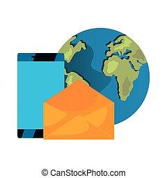 téléphone, email, mondiale