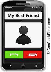 téléphone, intelligent