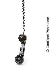 téléphone noir, récepteur