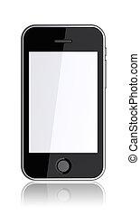 téléphone., pda, mobile