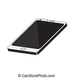 téléphone portable, 3d