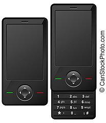 téléphone portable, moderne