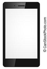 téléphone portable, moderne, vecteur, illustration