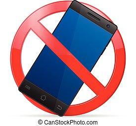 téléphone portable, prohibition