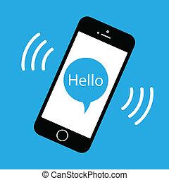 téléphone portable, sonner