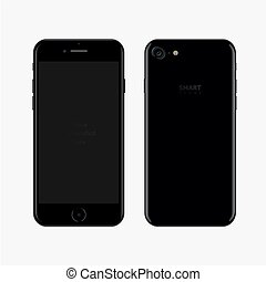 téléphone portable, vecteur, technologie
