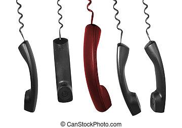 téléphone, récepteurs