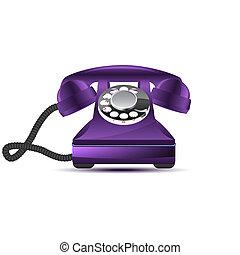 téléphone, retro
