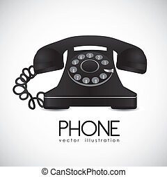 téléphone, rotatif