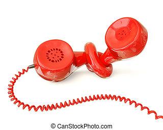 téléphone, rouges